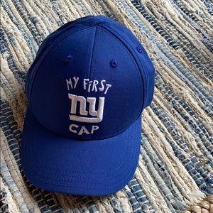 Brand new NY giants infant/toddler baseball cap